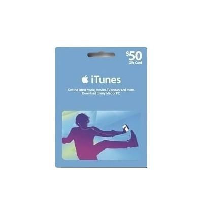 iTunes Gift Card $50 - EUA