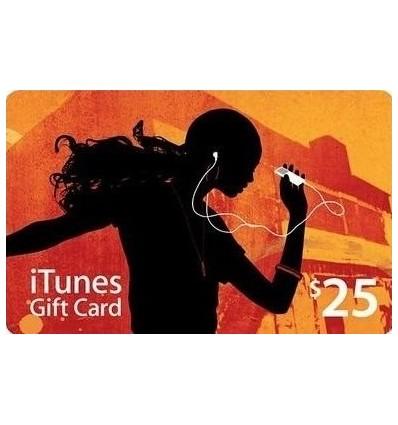 iTunes Gift Card $25 - USA