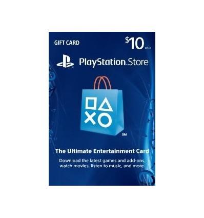 Cartão PSN $10 - Playstation Network EUA