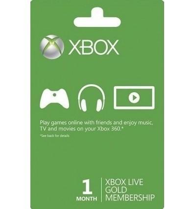 Xbox Live Gold - Assinatura 1 Mês