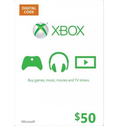 50$ Xbox Gift Card