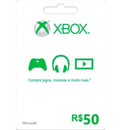 R$ 50 Xbox Gift Card