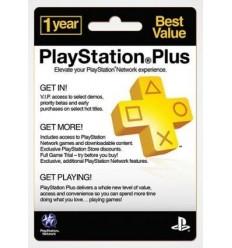 Playstation Plus - Assinatura de 12 Meses (PSN USA)