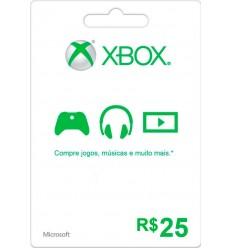 R$ 25 Xbox Gift Card