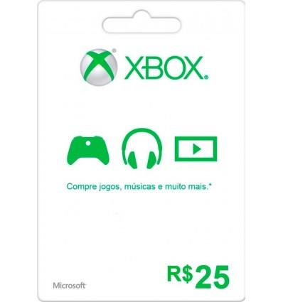 25$ Xbox Gift Card