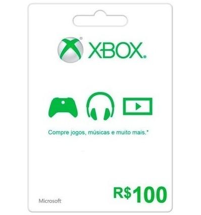 100R$ Xbox Gift Card