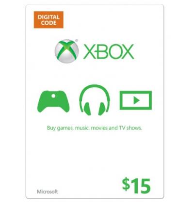 15$ Xbox Gift Card