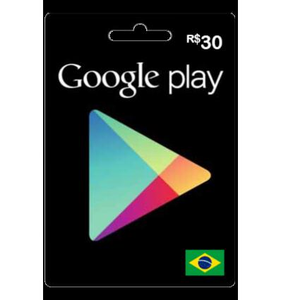 Google Gift R$ 30